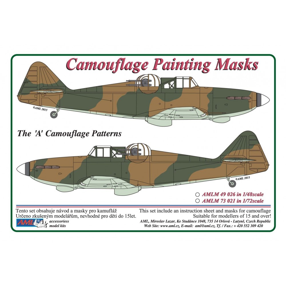 "Defiant Mk.I  1:48  ""A"" Camouflage Painting  Masks"