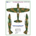 """Defiant Mk.I  1:48  """"A"""" Camouflage Painting  Masks"""