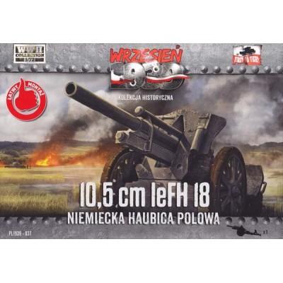 10,5cm leFH 18 German Field Howitzer  1:72