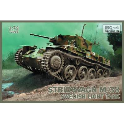 Stridsvagn m/38 Swedish light tank  1:72
