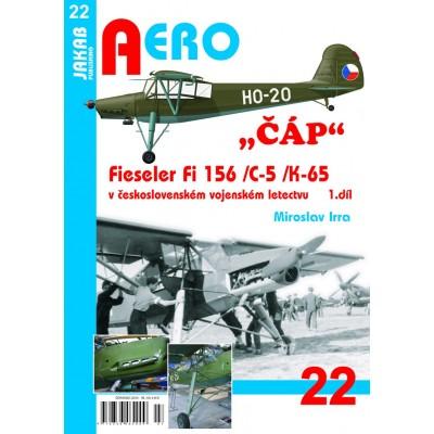 """""""Čáp"""" Fieseler Fi 156/C-5/K-65 , 1.díl"""