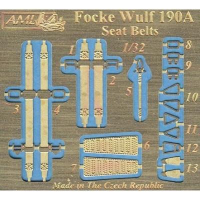 1/32 Fw 190 A resin seat & P-E seat belts