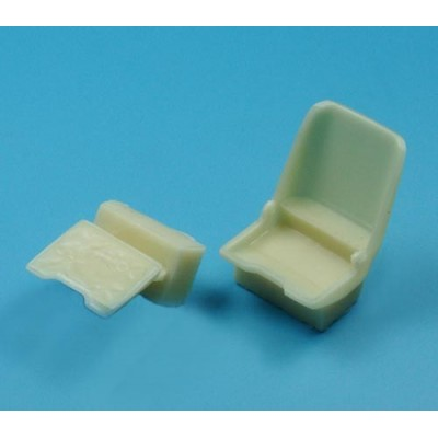 1/32 Fw 190 A resin seat & P-E seat belts