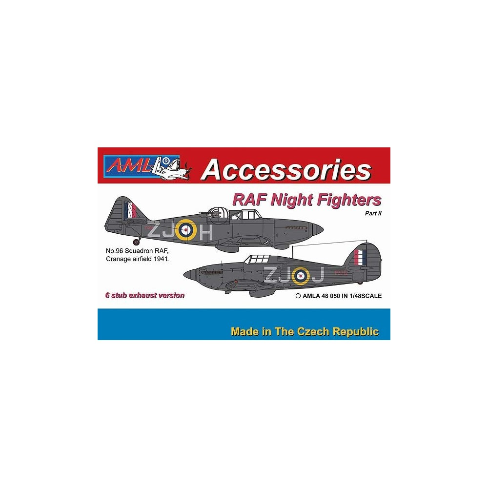 1/48 Hurricane Mk.I & Defiant Mk.I – 6 stub exhaust versions / Part II