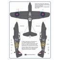 1/72 Hurricane Mk.I & Defiant Mk.I – 6 stub exhaust versions / Part I
