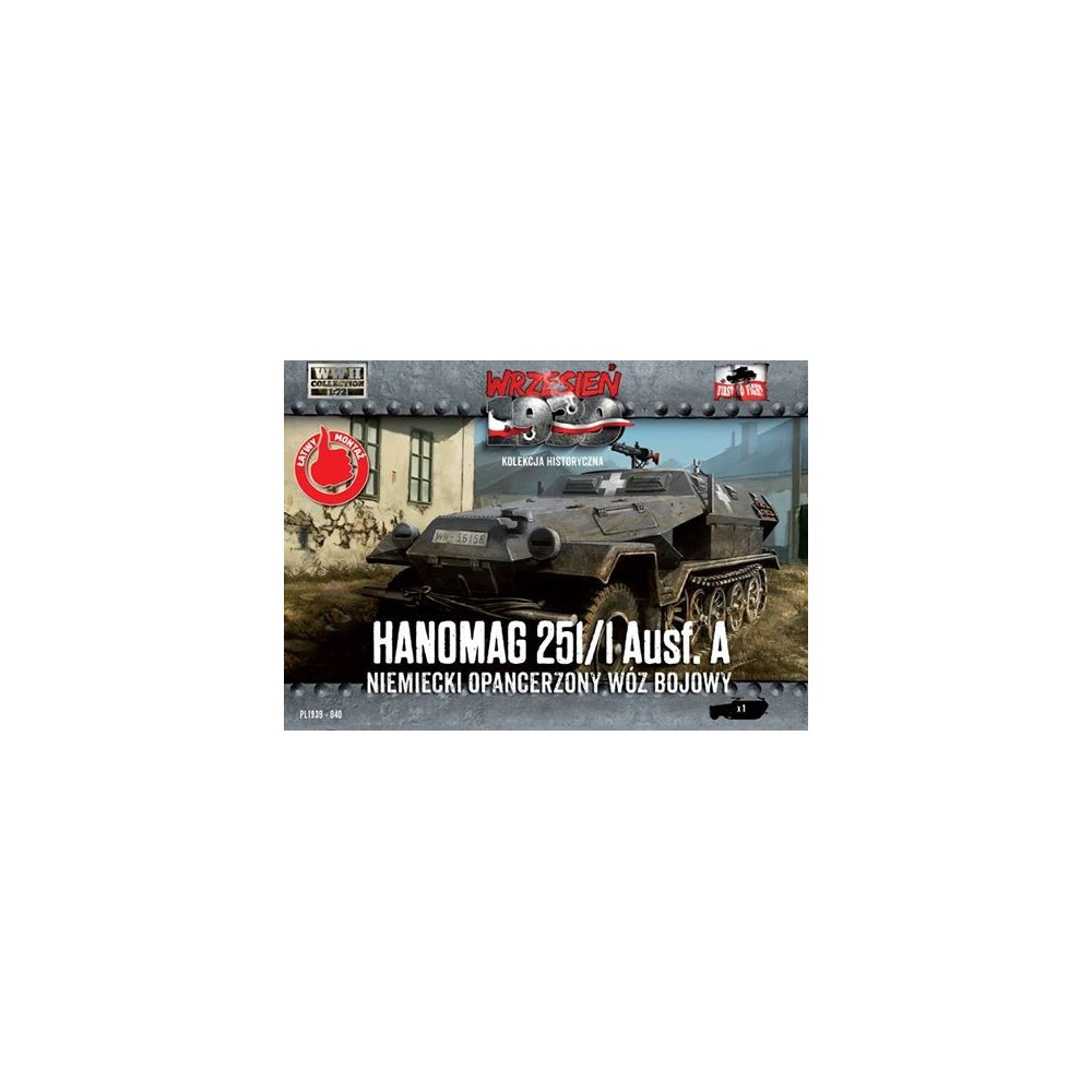1/72 Hanomag 251/1 Ausf. A – German Armored half-track