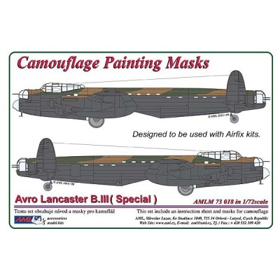 Avro Lancaster B.II (Special) - Camouflage Painting  Masks