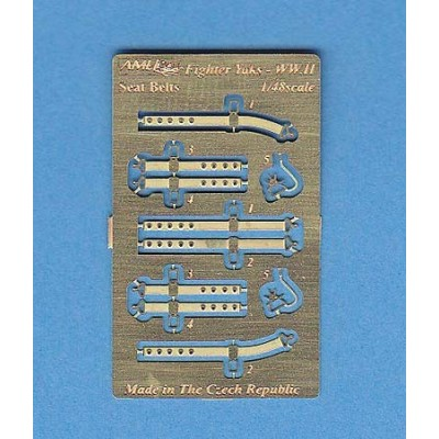 1/48 Fighter Yaks WW.II Seat Belts