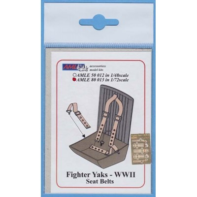 1/72 Fighter Yaks  WW.II Seat Belts