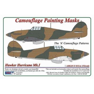 1/32 Hawker Hurricane Mk.I - Camouflage Painting  Masks