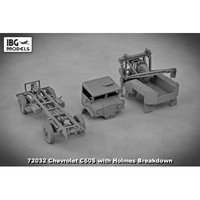 1/72 Chevrolet C60S with Holmes breakdown