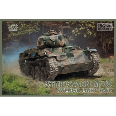 1/72 Stridsvagn m/39 Swedish light tank