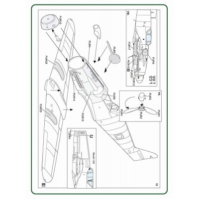 "1/32 Avia S-199 ""Sakeen"" conversion set"