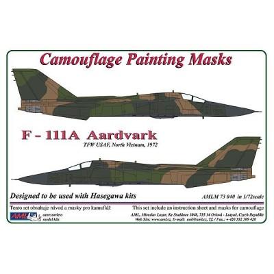 1/72 F – 111 Aardvark - Camouflage Painting  Masks