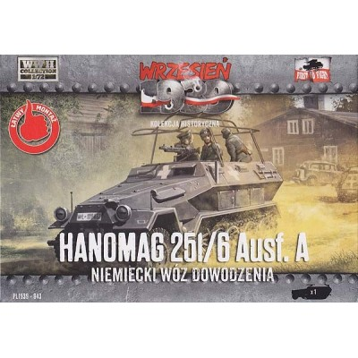 1/72 Hanomag 251/6 Ausf. A – German Armored Communications half-track
