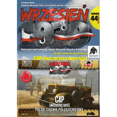 1/72 Polish C4P military half-track early version