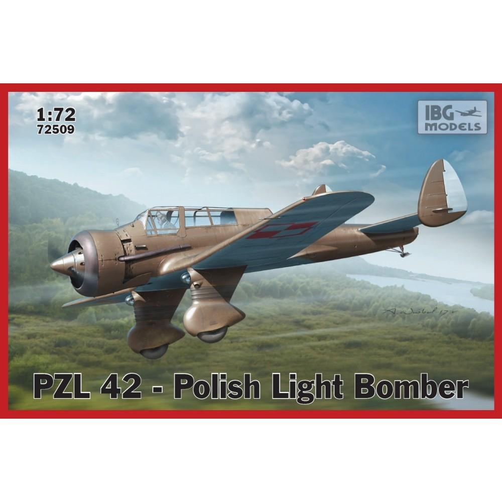 1/72 PZL.42 Polish Light Bomber
