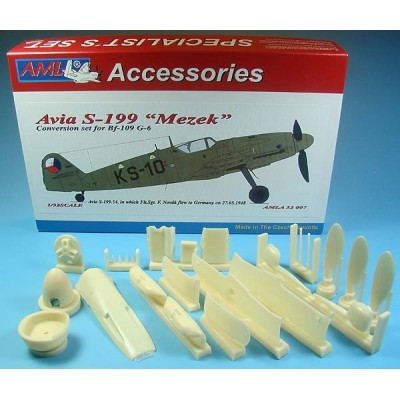 "1/32 Avia S-199 ""Mezek"" conversion set"
