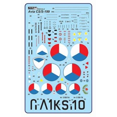 "1/32 Avia S-199 ""Mezek"" conversion set"