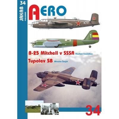 B-25 Mitchell v SSSR a Tupolev SB