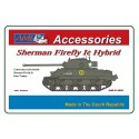 1/48 Czech Sherman Firefly Ic Hybrid conversion set