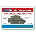 1/48 British Sherman Hybrid Firefly Ic conversion set
