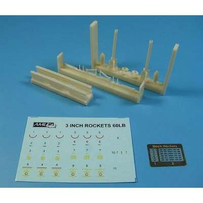 1/48 3 inch rockets 60LB conversion set