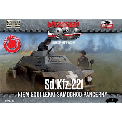 1/72 Sd.Kfz.221 German Light Armored car