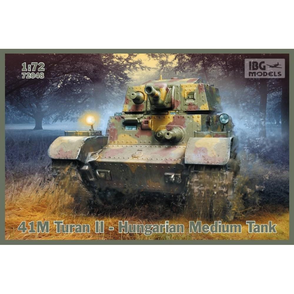 1/72 41M Turan II - Hungarian  Medium Tank