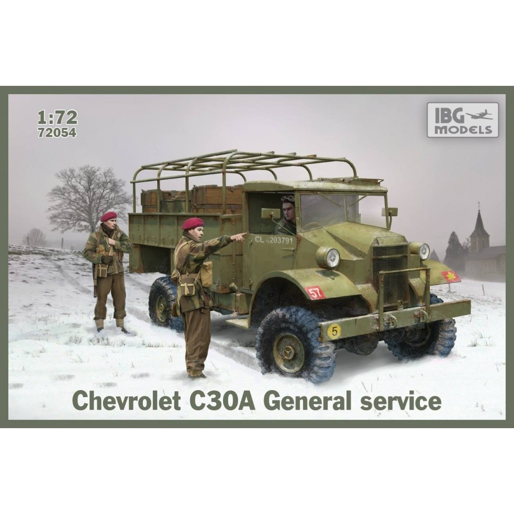 1/72 Chevrolet C30A General Service