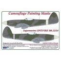 1/32 S.Spitfire Mk.22/24  - Camouflage Painting Masks