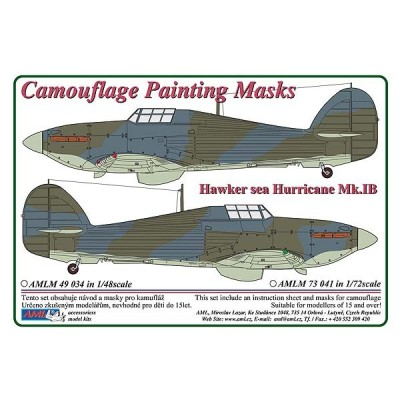 1/48 Hawker  Sea Hurricane Mk.IB - Camouflage Painting Masks
