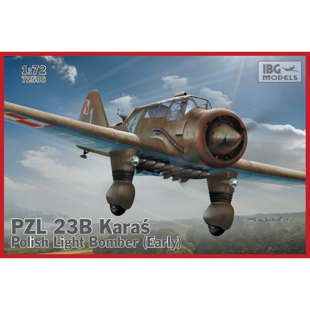 1/72 PZL.23A Karaś – Polish Light Bomber