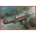 1/72 PZL.23B Polish Light Bomber  ( Late production )