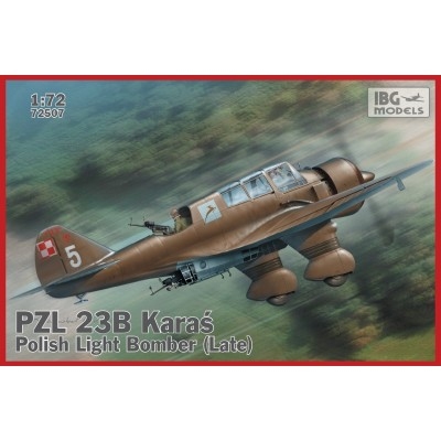 1/72 PZL.23B Polish Light Bomber  ( Late production )