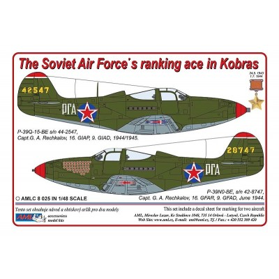 The Soviet Air Force ranking ace in Kobras .  Part II