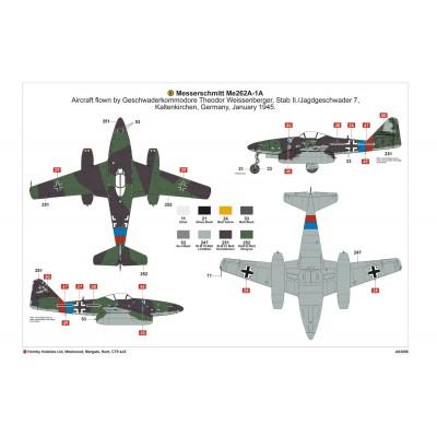 1/72 Messerschmitt Me 262A-1A