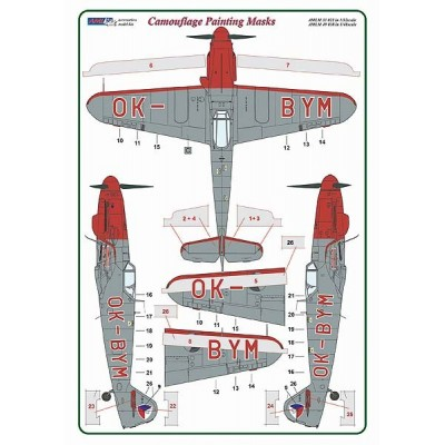 1/48 Messerschmitt Bf 109G-10/S.99 OK-BYM – Czech Police version