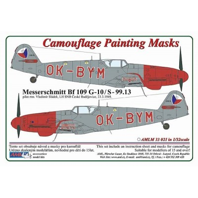 1/32 Messerschmitt Bf 109G-10/S.99 OK-BYM – Czech Police version