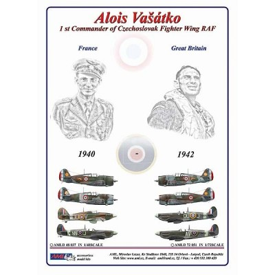 Alois Vašátko - 1st Commander  of Czechoslovak Wing RAF