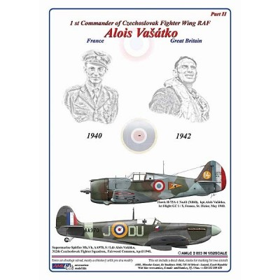 1/32 Alois Vašátko - 1st Commander  of Czechoslovak Wing RAF, Part II