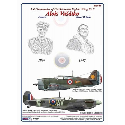 1/32 Alois Vašátko - 1st Commander  of Czechoslovak Wing RAF, Part IV