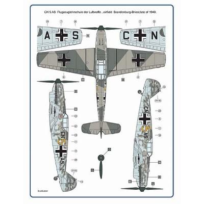 1/72 Messerschmitt Bf 109B-2