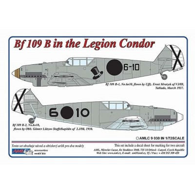 1/72 Messerschmitt Bf 109 B – Legion Condor in Spain