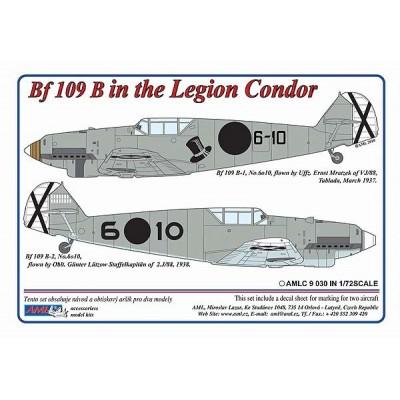 1/72 Messerschmitt Bf 109 B – Legion Condor in Spain