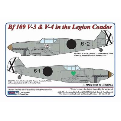 1/72 Messerschmitt Bf 109 V3,V4 – Legion Condor in Spain