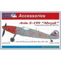 "1/32 Avia S-199 Mule – The conversion set with vacu  canopy ""buble"" type"