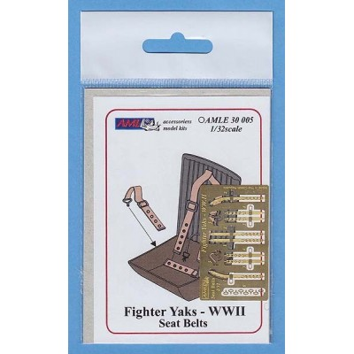 1/32 Fighter Yaks  WW.II Seat Belts