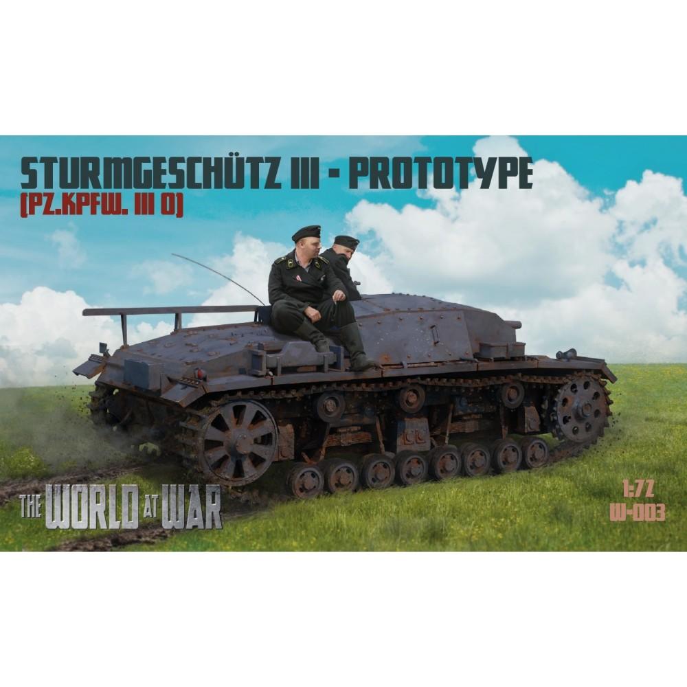 1/72 Sturmgeschutz III 0-Serie