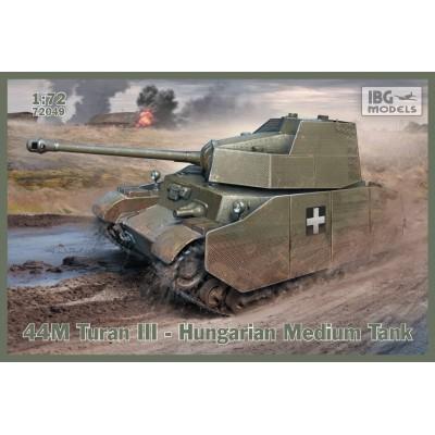 1/72 44M Turan III - Hungarian  Medium Tank